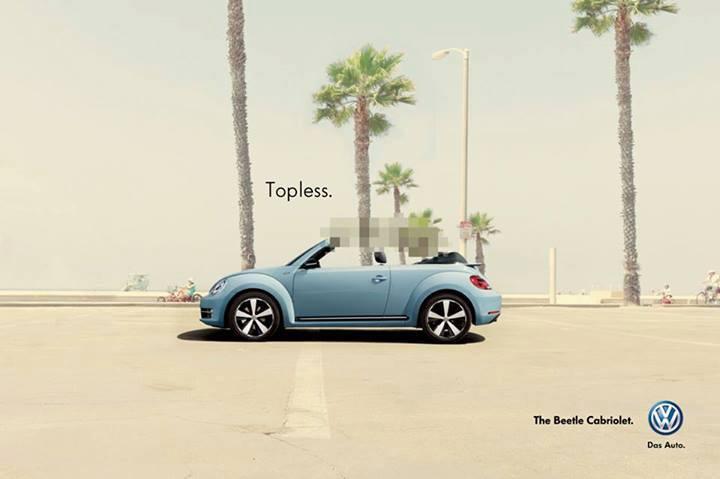 publicité pixels Volkswagen