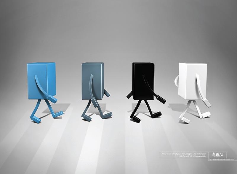 publicité pixels Suraj Electronics