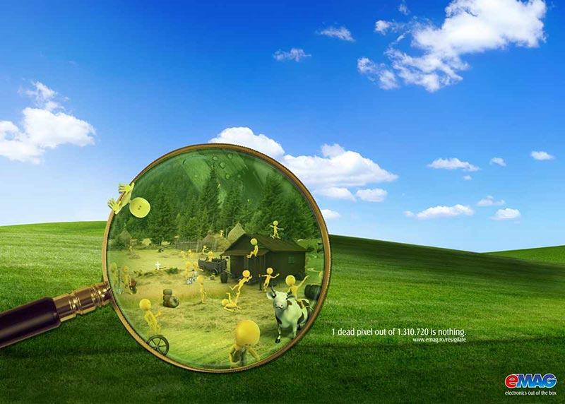 publicité pixels EMAG