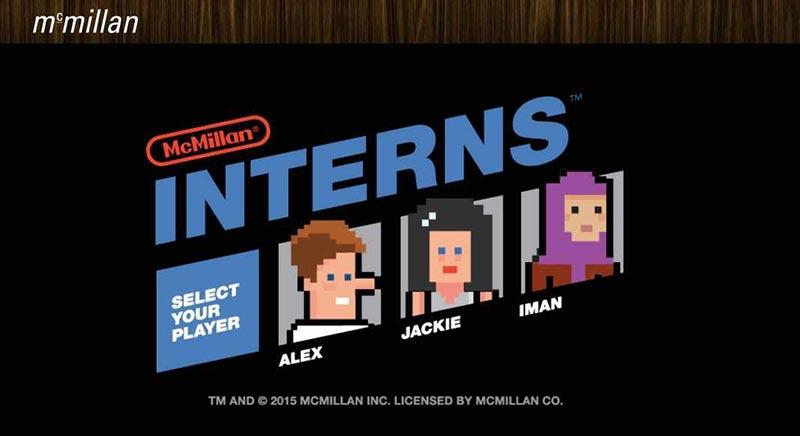 publicité pixels McMillan