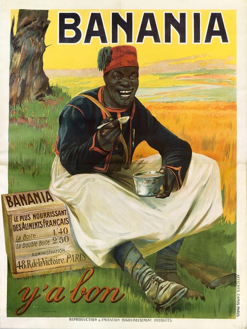 Tirailleur Sénégalais Y'a bon Banania