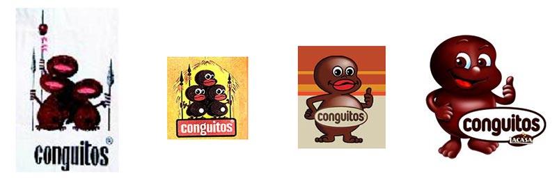 Evolution du design des Conguitos