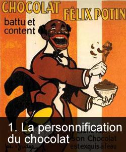 La personnification du chocolat