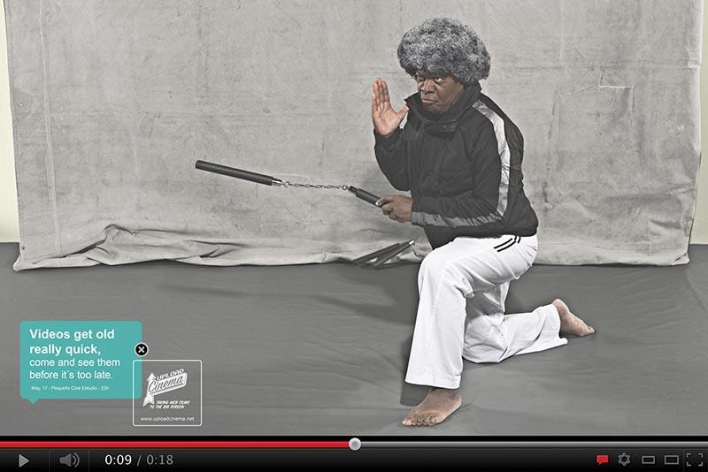 publicité mème Afro Ninja