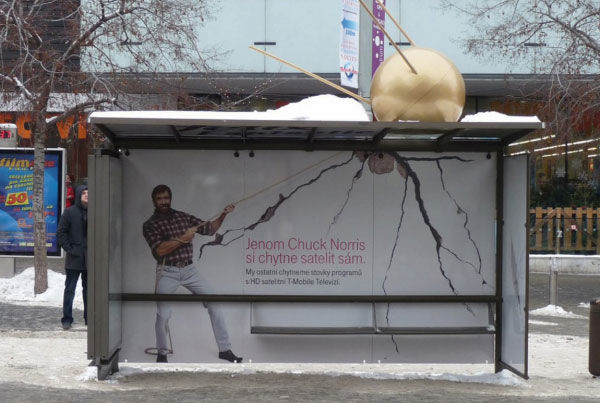 publicité mème Chuck Norris