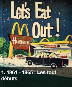 1961 - 1965 : Les tout débuts