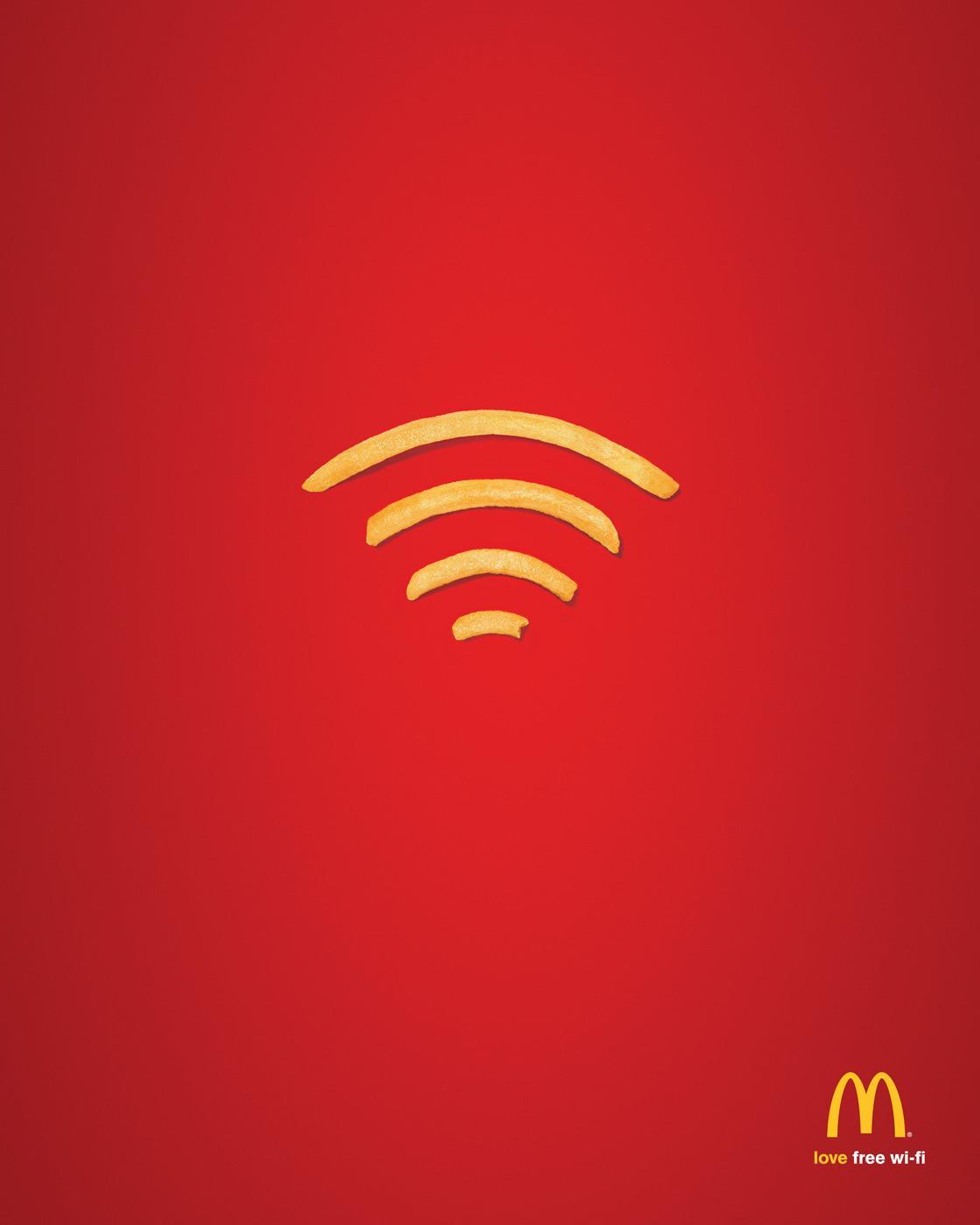 publicité McDonald's