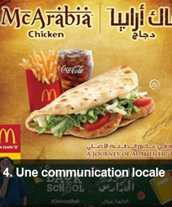 Une communication locale