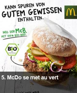 McDo se met au vert
