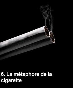 La métaphore de la cigarette