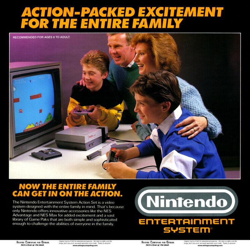 pub nintendo NES 1985