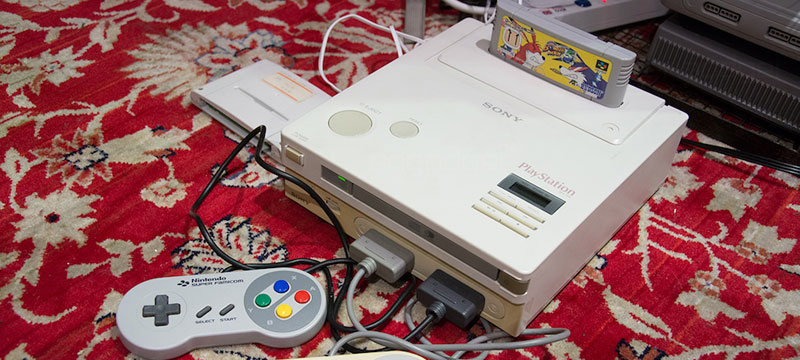 prototype Nintendo PlayStation