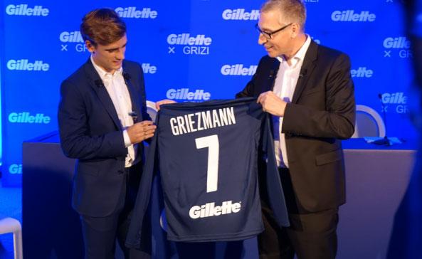 Antoine Griezmann Gilette