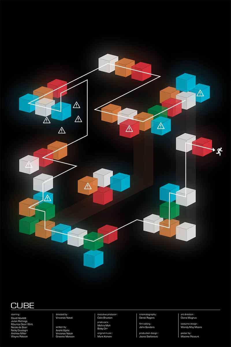 Poster Cube par Maxime Pécourt