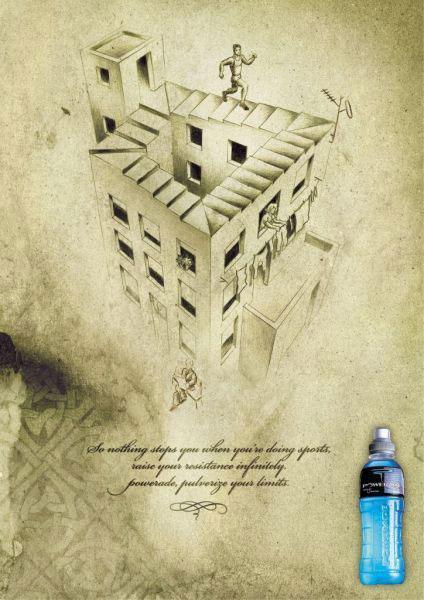 Publicité Escher