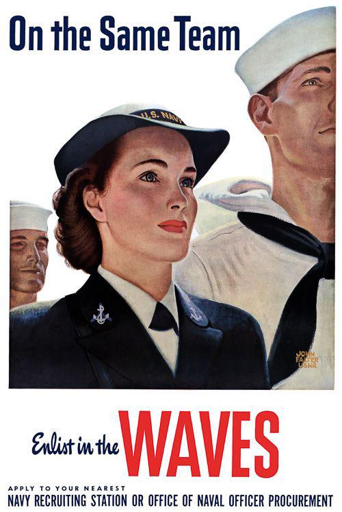 publicité féministe US Navy