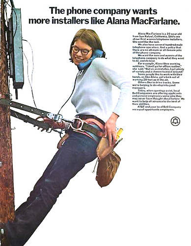 publicité féministe AT&T