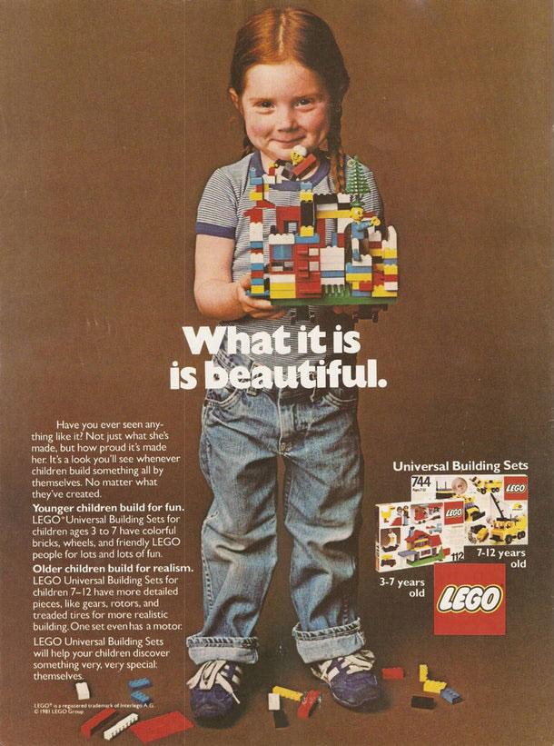 publicité féministe Lego