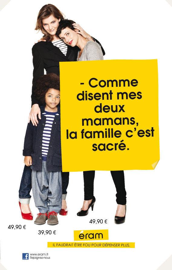 publicité féministe Eram