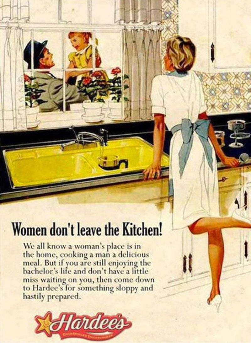publicité sexiste Hardee's