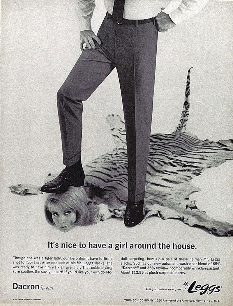 publicité sexiste Mr Leggs
