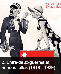 Entre-deux-guerres et années folles (1918 - 1939)