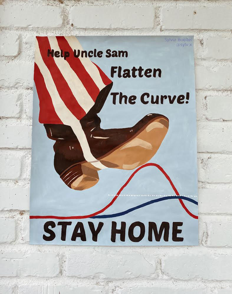 Oncle Sam - Flatten the curve