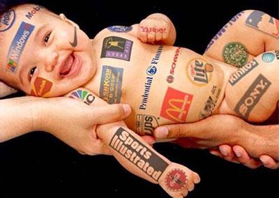 Effet des marques sur les enfants