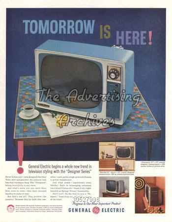 publicité télévision Philco années 50
