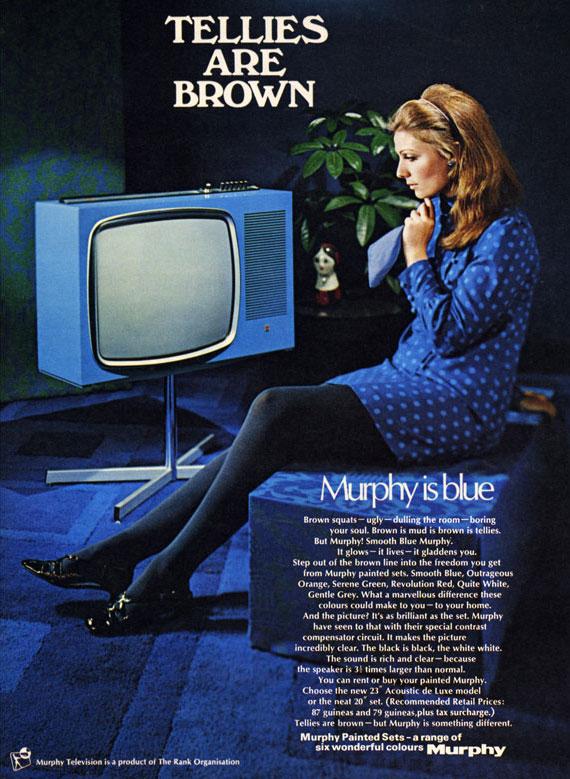 publicité télévision Murphy années 50