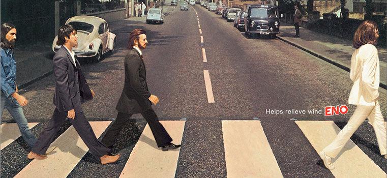 L'histoire des Beatles en 60 publicités