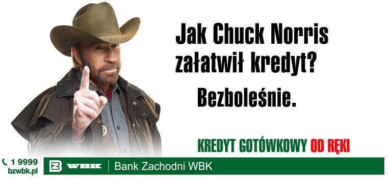 Chuck Norris ne tourne pas dans la pub. La pub tourne autour de Chuck Norris