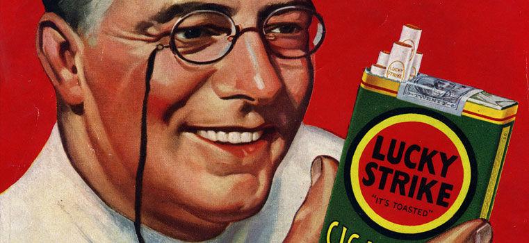 Fumez ! C'est bon pour votre santé selon la pub…
