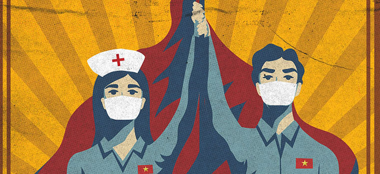 Métaphores guerrières : quand le coronavirus recycle les codes de la propagande