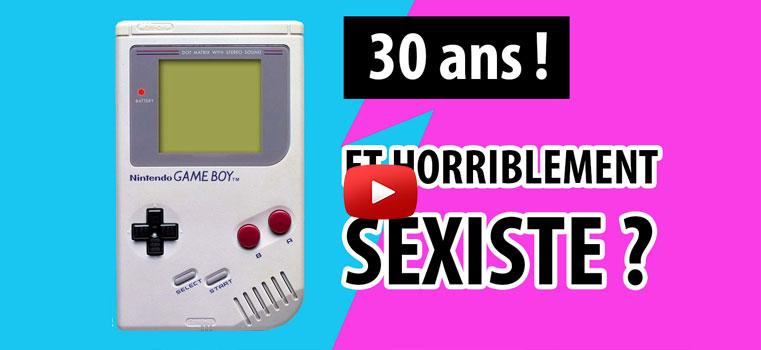 La Game Boy a 30 ans ! Etait-elle horriblement sexiste ?