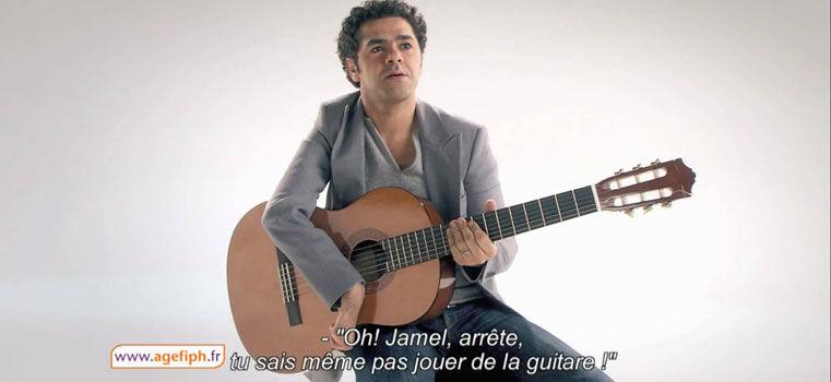 Jamel Debbouze en 22 publicités