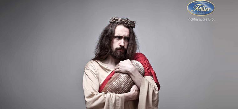 Jésus, cette icône publicitaire !