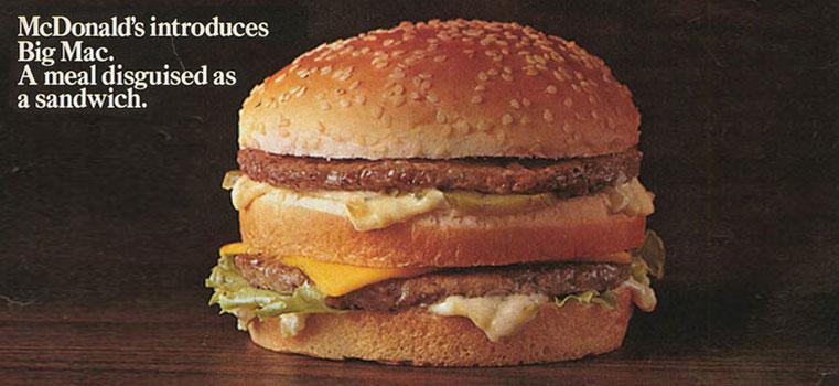 Rétrospective : 50 ans de McDonald's en 40 pubs !