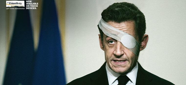 Sarkozy l'icône publicitaire ! 20 publicités inspirées par le Président