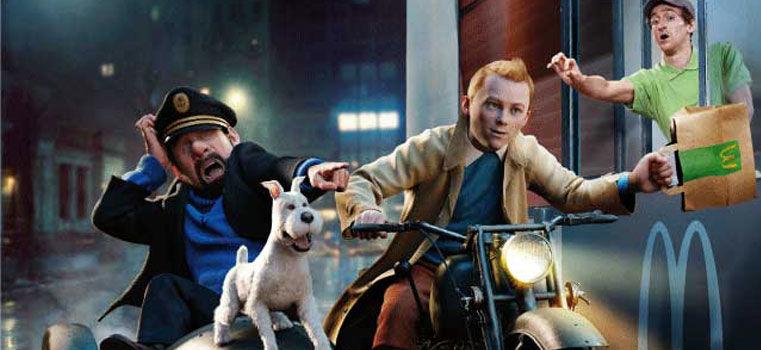 Tintin, la nouvelle égérie marketing ?