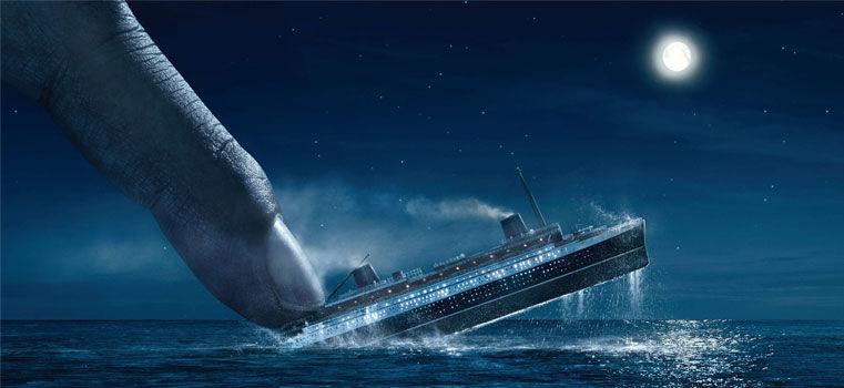 Le Titanic : 100 ans et 50 pubs plus tard…